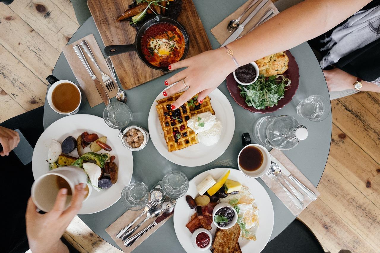 Küche als Lebensmittelpunkt