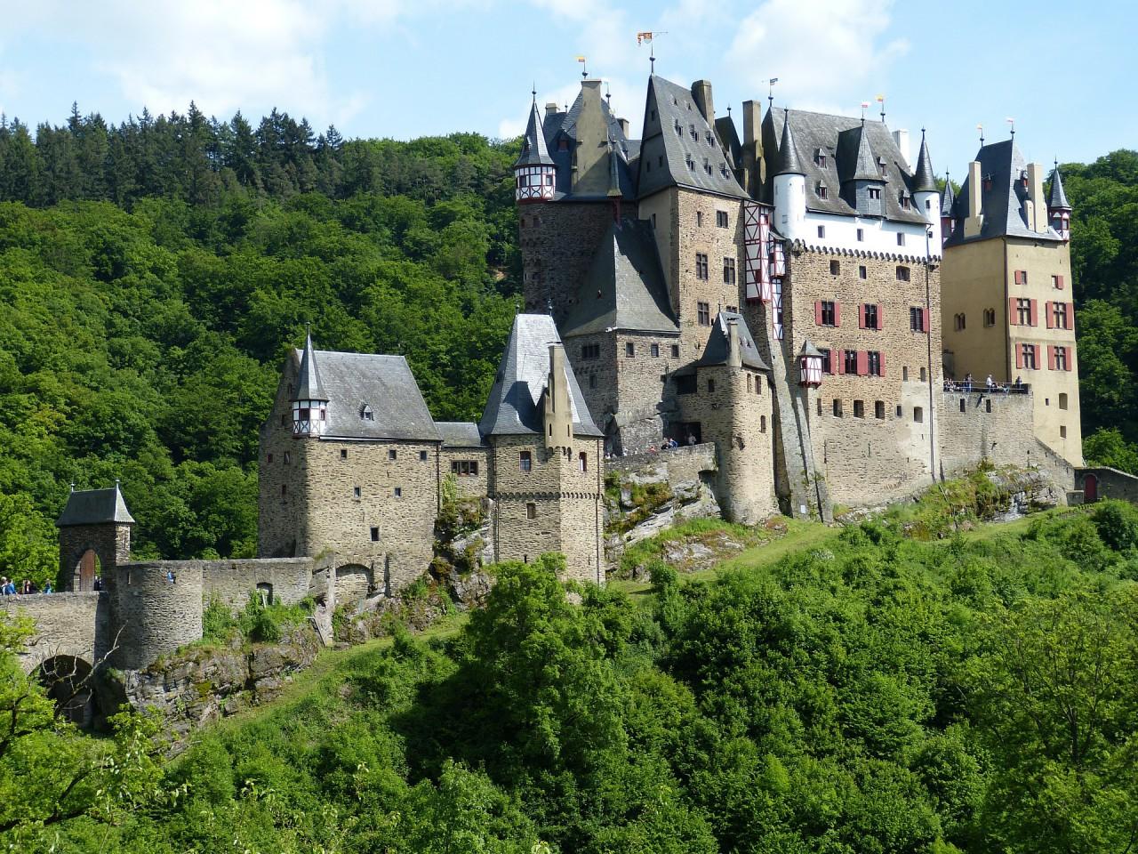 Schloss aus Stein