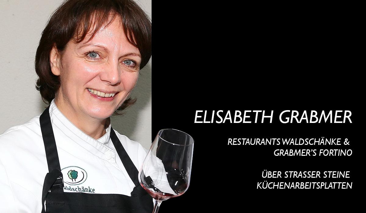 Elisabeth Grabmer über Strasser Steine