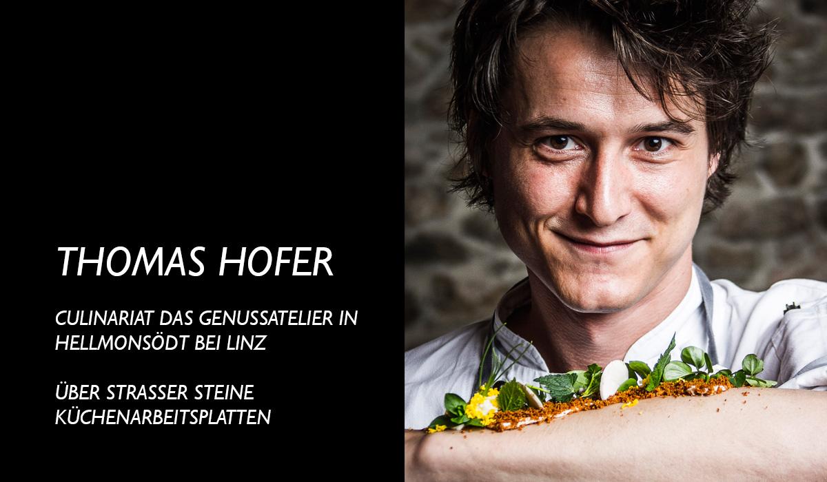 Thomas Hofer über Strasser Steine