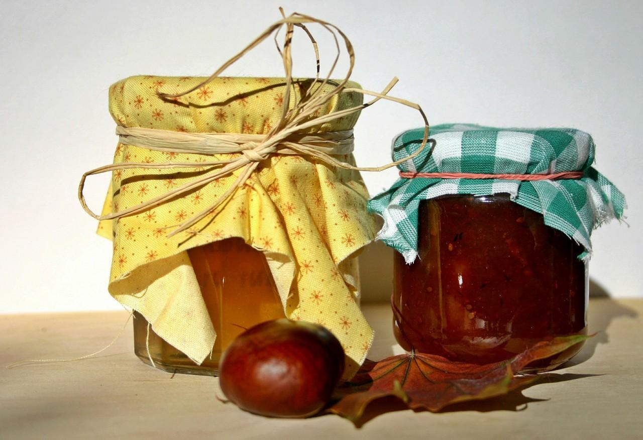 Marmelade, Apfel, Herbst, Kürbis