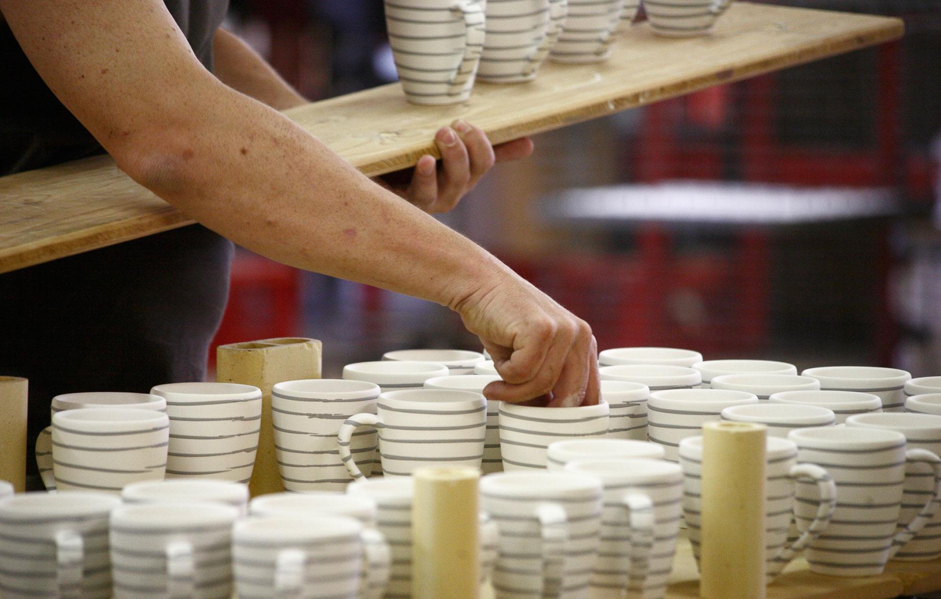 Gmundner Keramik Brennen