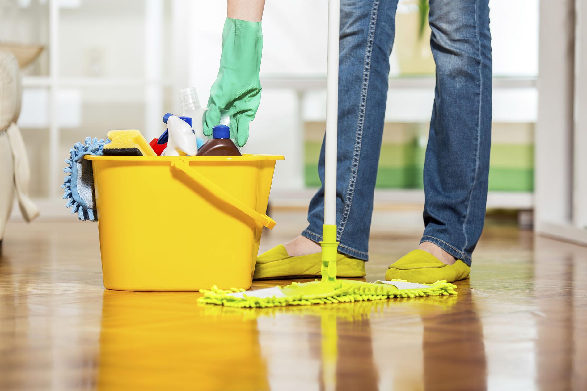 Boden waschen