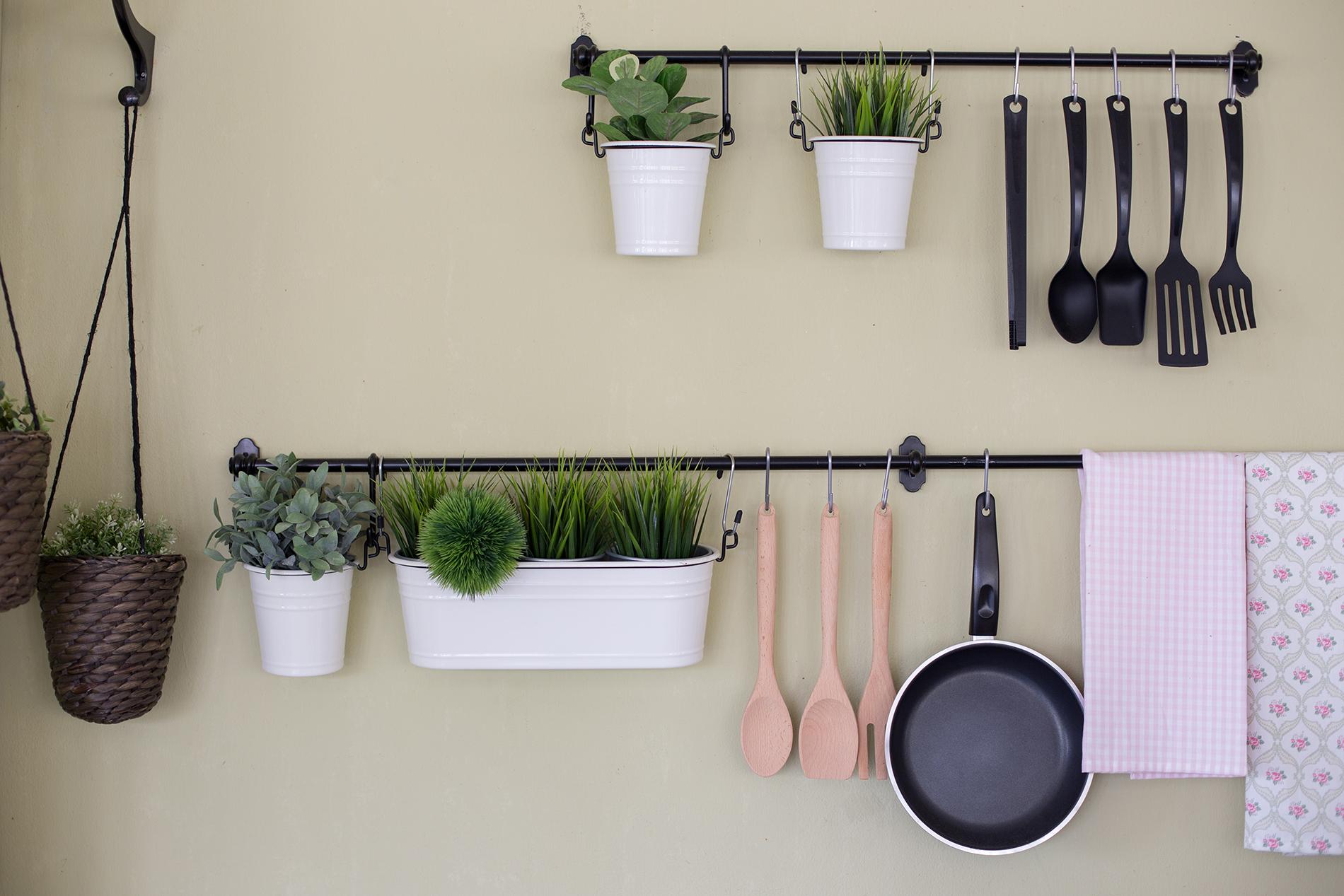 Küche aufräumen