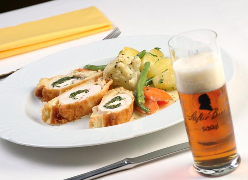 Mahlzeit mit Mühlviertler Bier