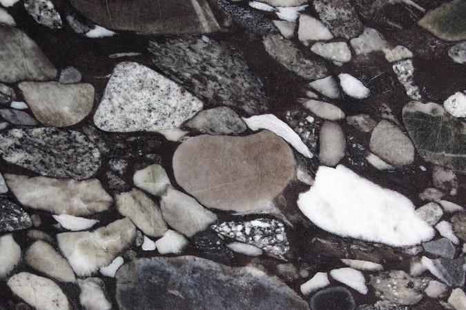 Unterschiedliche Stein-Typen