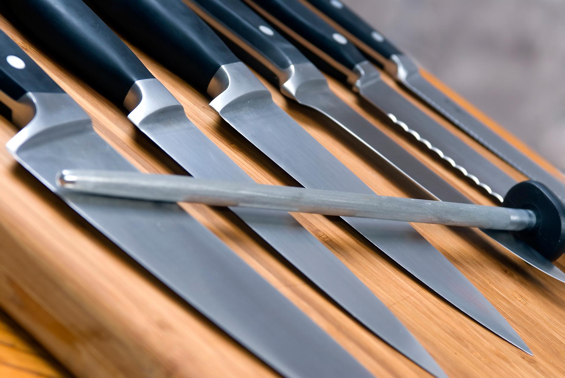 Eine Messer-Sammlung
