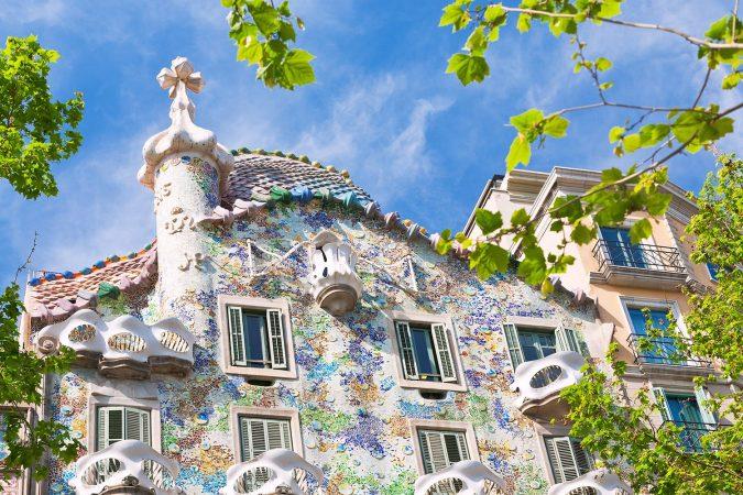 Casa Batlló, entworfen von Antoni Gaudí