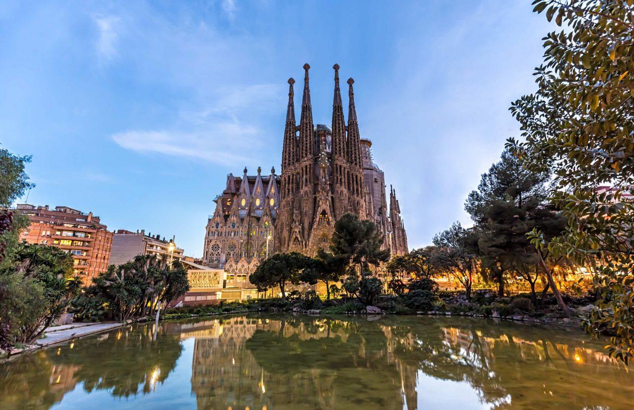 La Sagrada Família von Antoni Gaudí