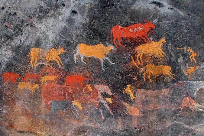 Steinmalerei
