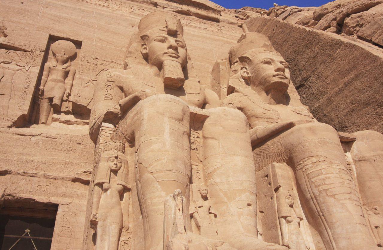 Sonnentempel von Abu Simbel.