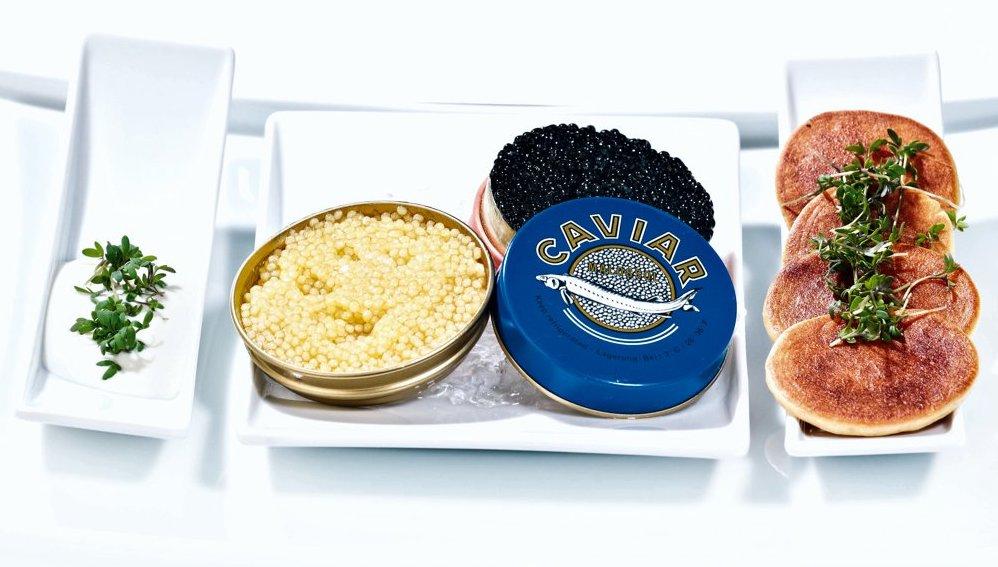 Weisser Kaviar
