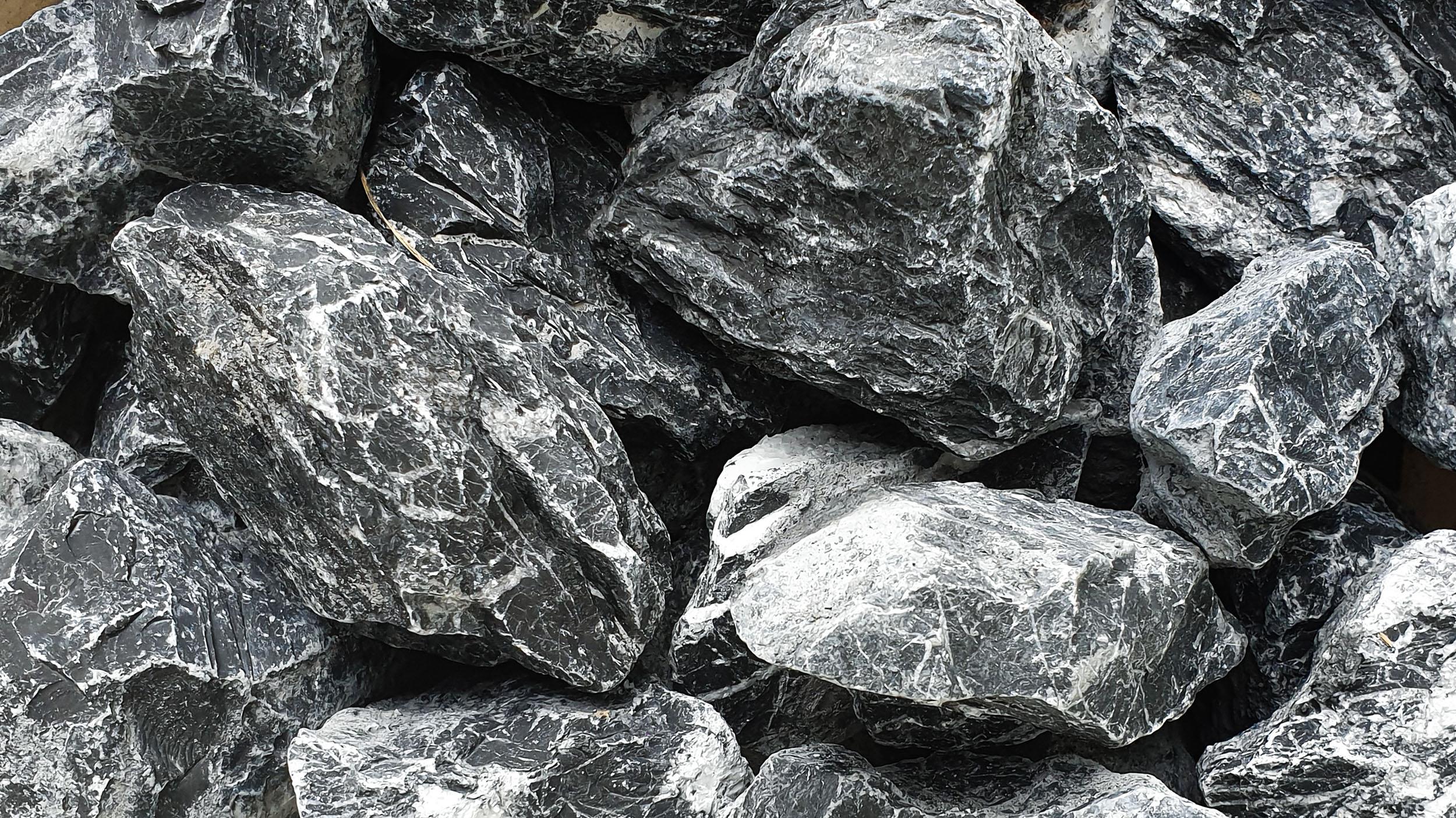 Steine grau für den Innenbereich