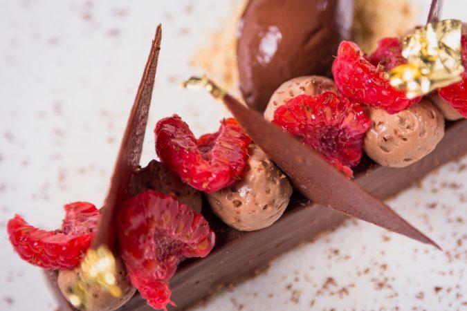 Weihnachtliche Nachspeise: Mousse au chocolate