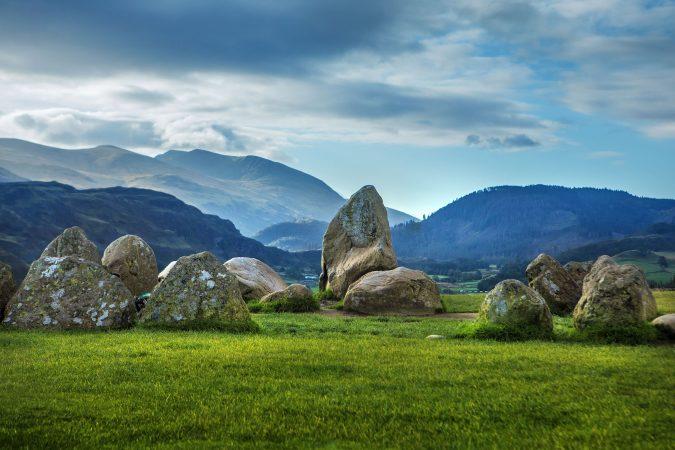 Natürlicher Steinkreis