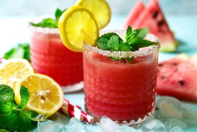 Wassermelonen Wasser