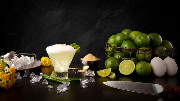 Peruanischer traditioneller Cocktail: Pisco Sour