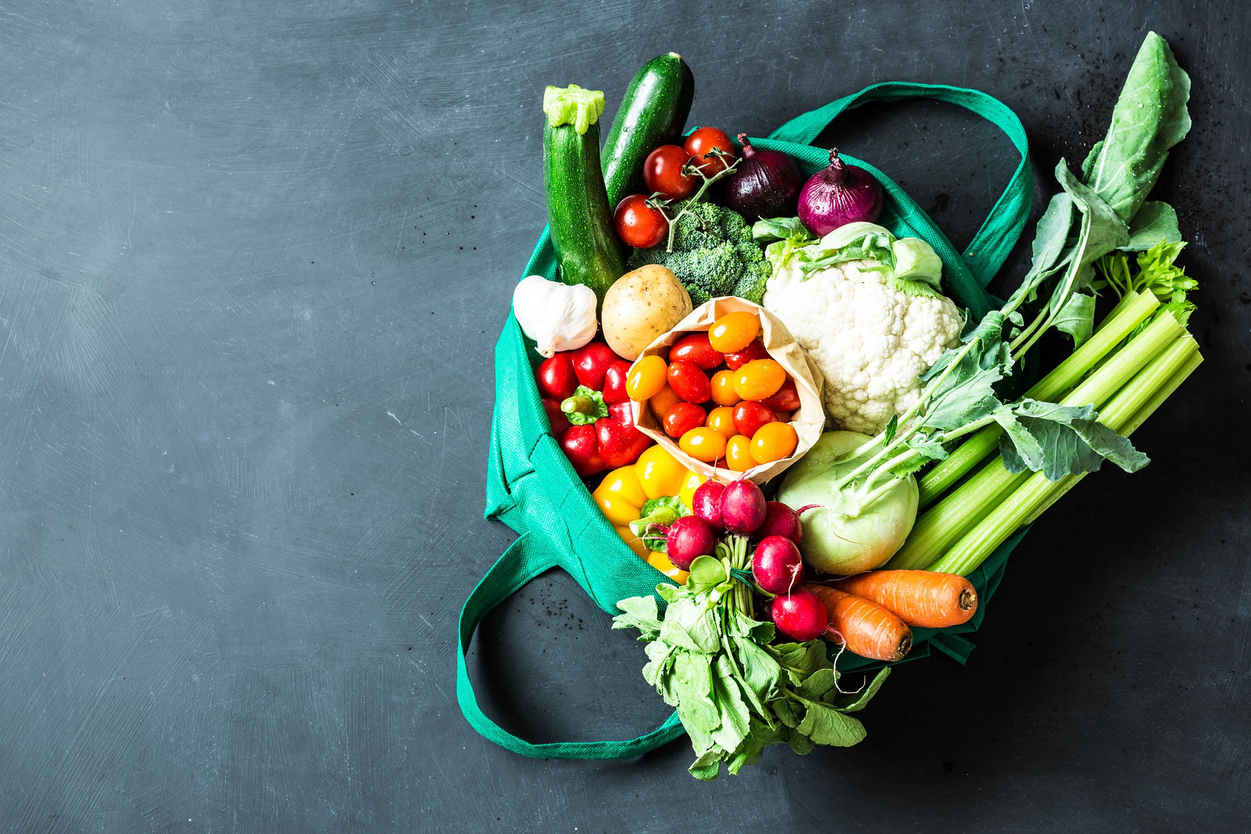 Frische, regionale Lebensmittel