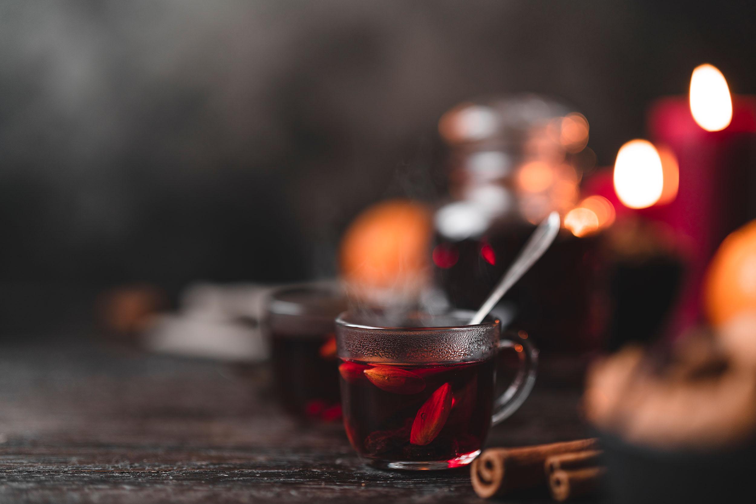 Weihnachtlicher Glögg Wein