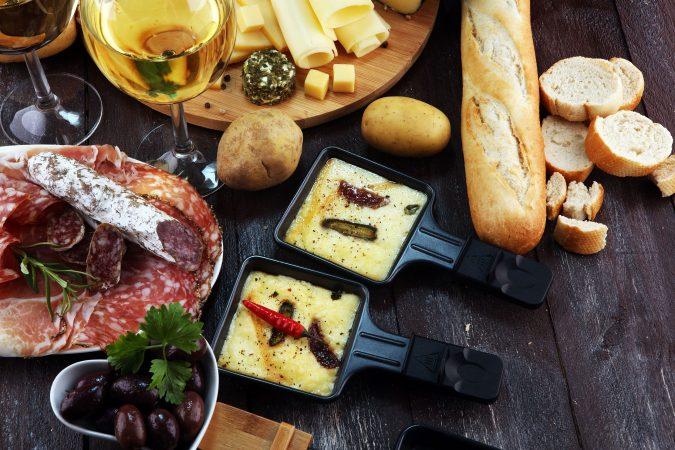 Silvester Raclette Arrangement