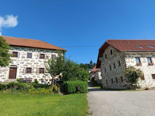 Steinbloß Häuser Mühlviertel Oberösterreich